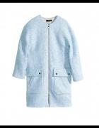 Płaszcz H&M błękitny...