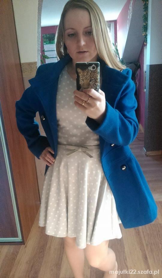 Eleganckie mój ulubiony chabrowy płaszczy
