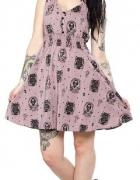Sukienka Sourpuss cats koty czaszki...