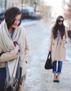 Classic beige coat...