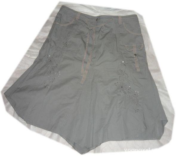 Spódnice odjazdowa spódnica haft koraliki evans 50 52