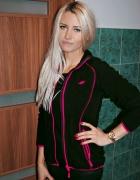 bluza 4f spodnie bershka przeszycia zamki