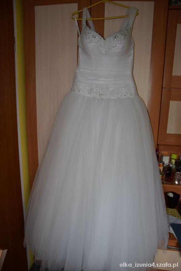 Suknia ślubna Maxima Princessa Rozm 38 40 Gorset W Suknie ślubne