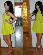 KUPIĘ limonkową sukienkę New Look...