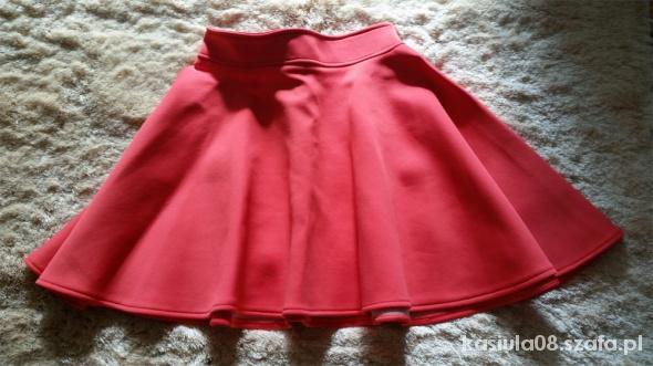 Spódnice Malinowa rozkloszowana roz S z koła