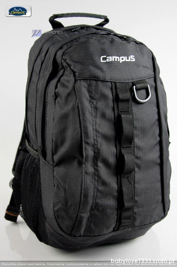 plecak czarny campus pojemny