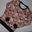 pikowana blogerska bluza w kwiaty