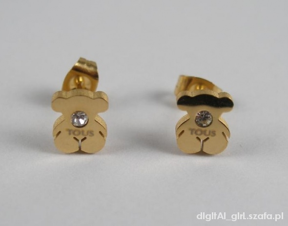 TOUS BEAR GOLD EARRINGS