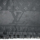 LOUIS VUITTON duży szal LV chusta JEDWAB monogram