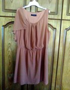 Dorothy Perkins elegancka szyfonowa sukienka 44