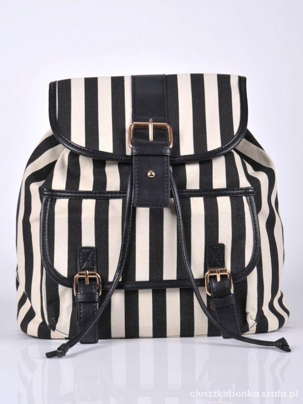 Plecaki Plecak w paski TROLL