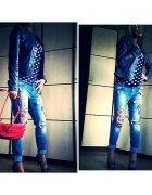 spodnie jeans rossodisera...
