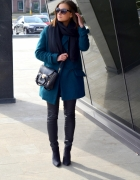 TURQUOISE COAT FROM SALE