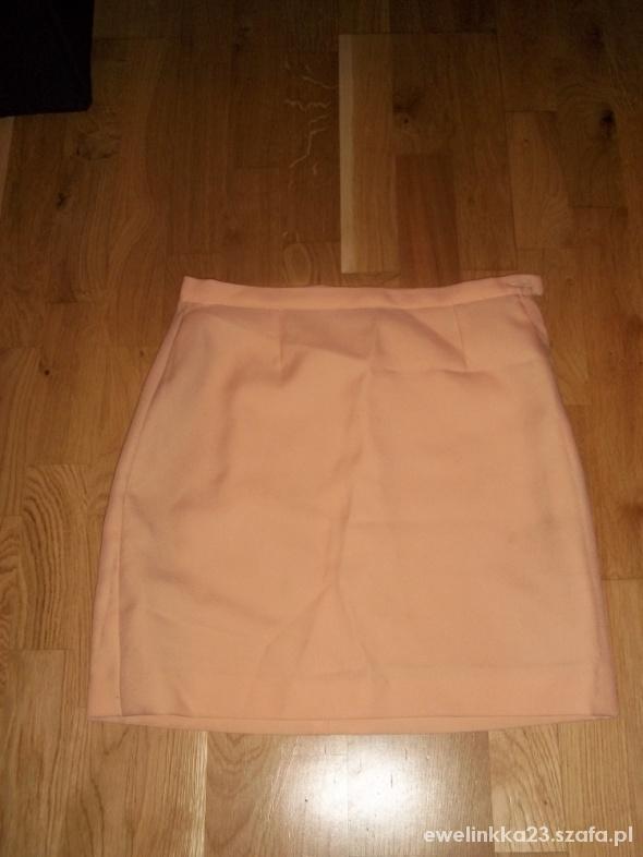 Spódnice Morelkowa elegancka spódniczka s