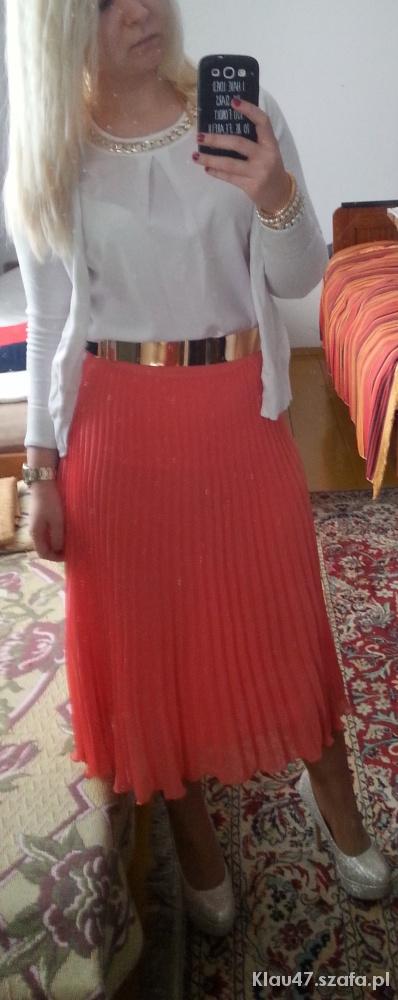 Na specjalne okazje Plisowana spódnica