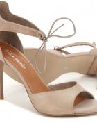 Sandałki wiązane Badura...