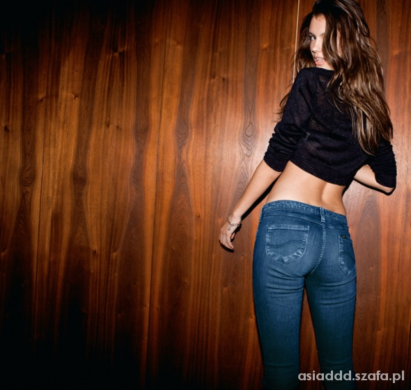 Spodnie LEE xs Rurki...