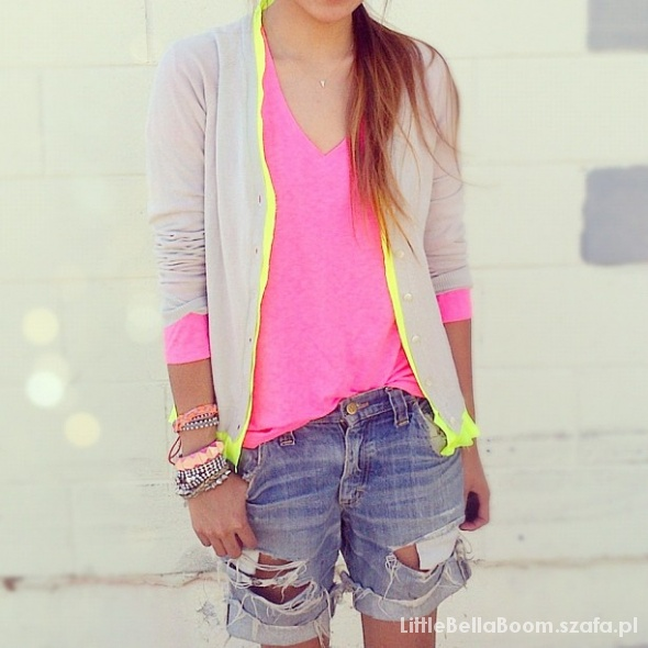 Codzienne Neon Look