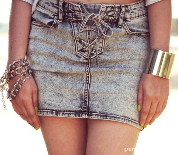 Spódnice MARMURKOWA mini H&M jak nowa 34 36