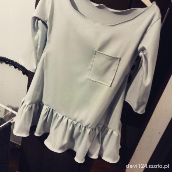 mietowatuniko sukienka hand made