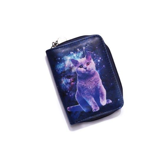 Kosmiczny Kot portfel...