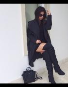 all black inspiracja elegancko