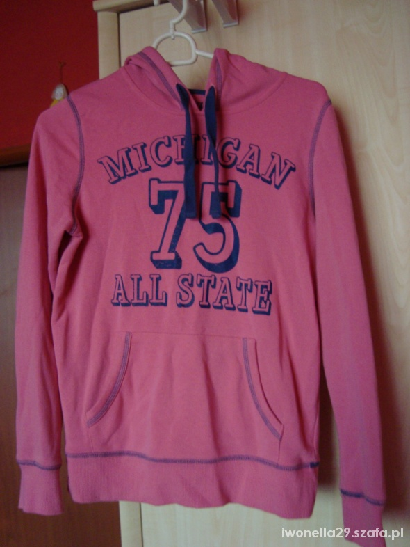 Bluzy różowa sportowa