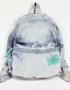 Marmurkowy Plecak Jeansowy
