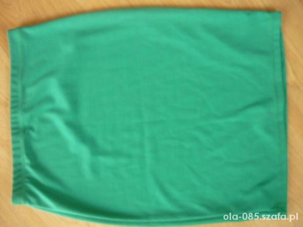 Spódnice zielona spódniczka L