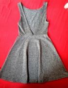 Sukienka H&M rozmiar 34 szara