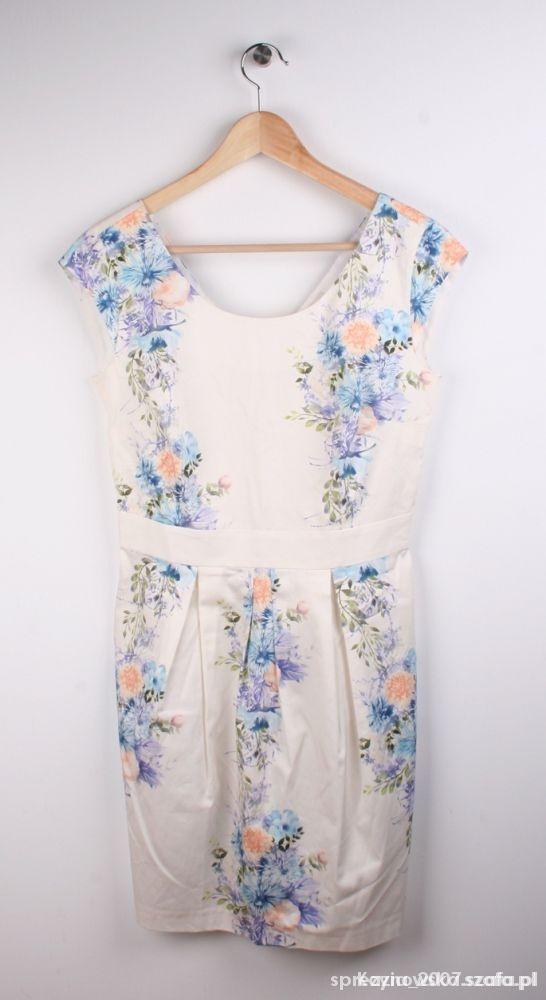 Ubrania Sukienka w kwiaty Reserved 38