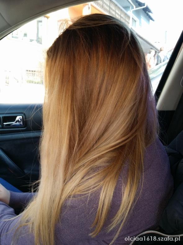 Fryzury moje blond włosy