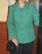 zielona kurteczka retro...