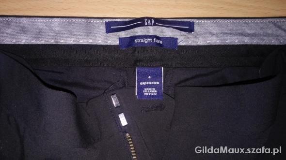 spodnie straight flare gap rozmiar 4...