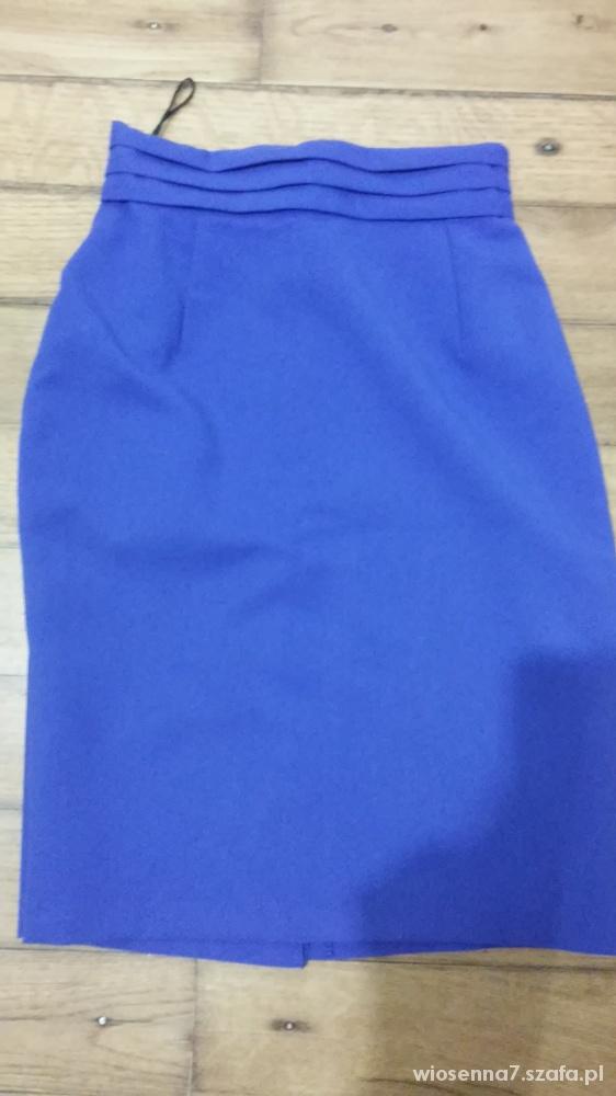 Spódnice Kobaltowa XS S