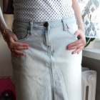 Jeans spódnica