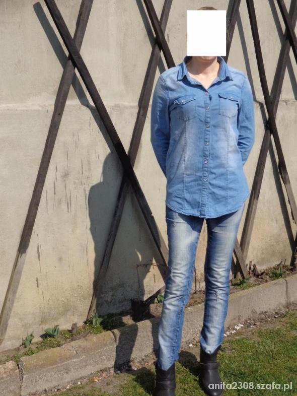 wiosennie i jeansowo