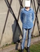 wiosennie i jeansowo...