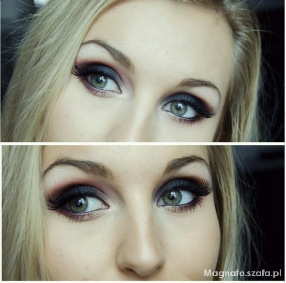 Fryzury mój makijaż smokey eyes