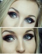 mój makijaż smokey eyes