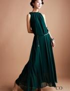 Zjawiskowa Zielona Sukienka