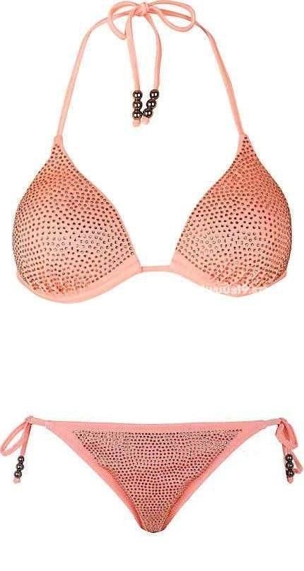 bikini River Island diamante morelowe...