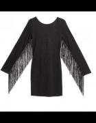 Sukienka H&M z frędzlami