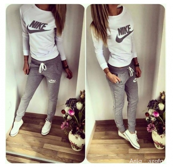 Nike track suit...