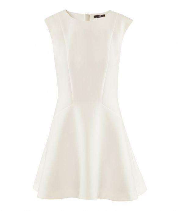Sukienka biala h&M...
