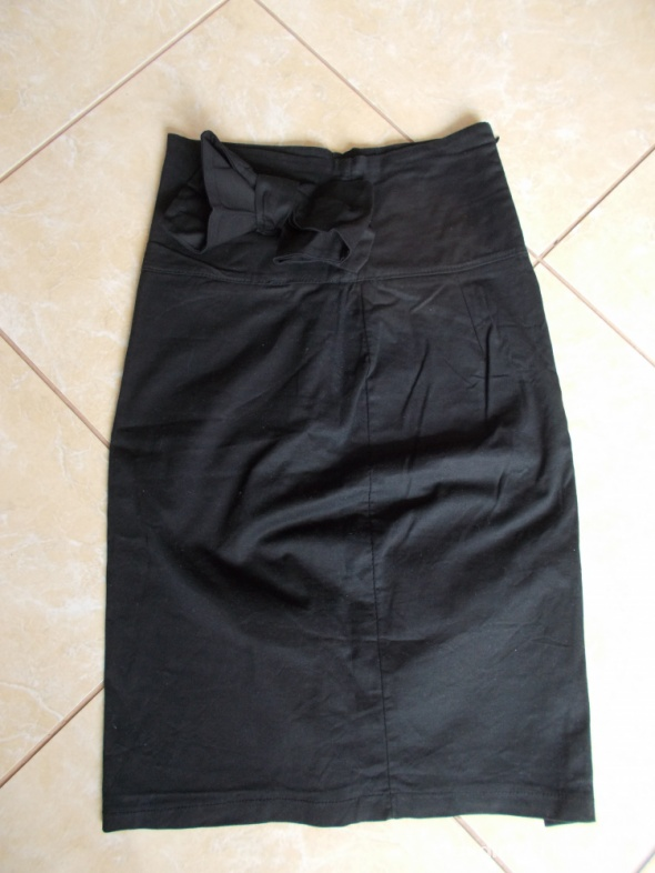 Spódnice czarna sexi spódnica ołówkowa