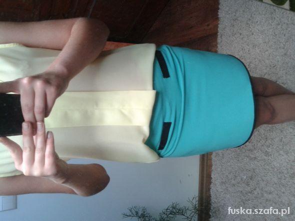 Spódnice miętowa spódniczka