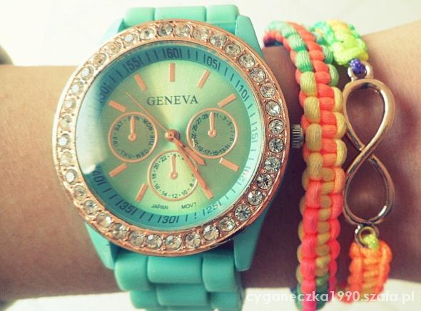 Zegarek bransoletki