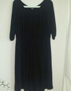 K&D czarna fajna sukienka 46