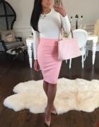 różowa elegancja...